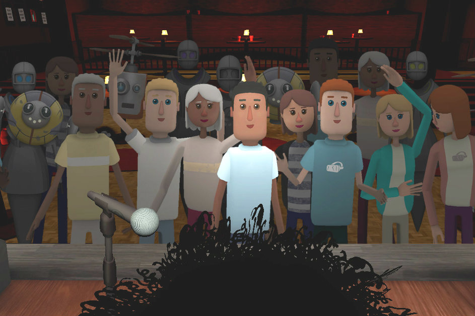 A Front Row 5,000 Rows Deep in AltspaceVR's Virtual Theater