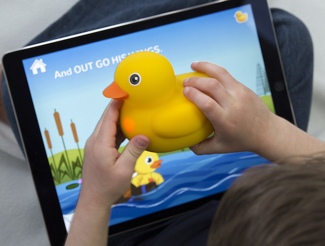 Edwin the Duck connects to apps for education and entertainment (image: Pi Lab).