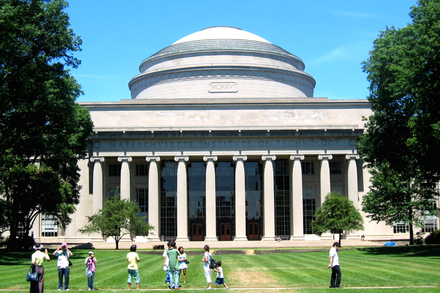 MIT campus stock image
