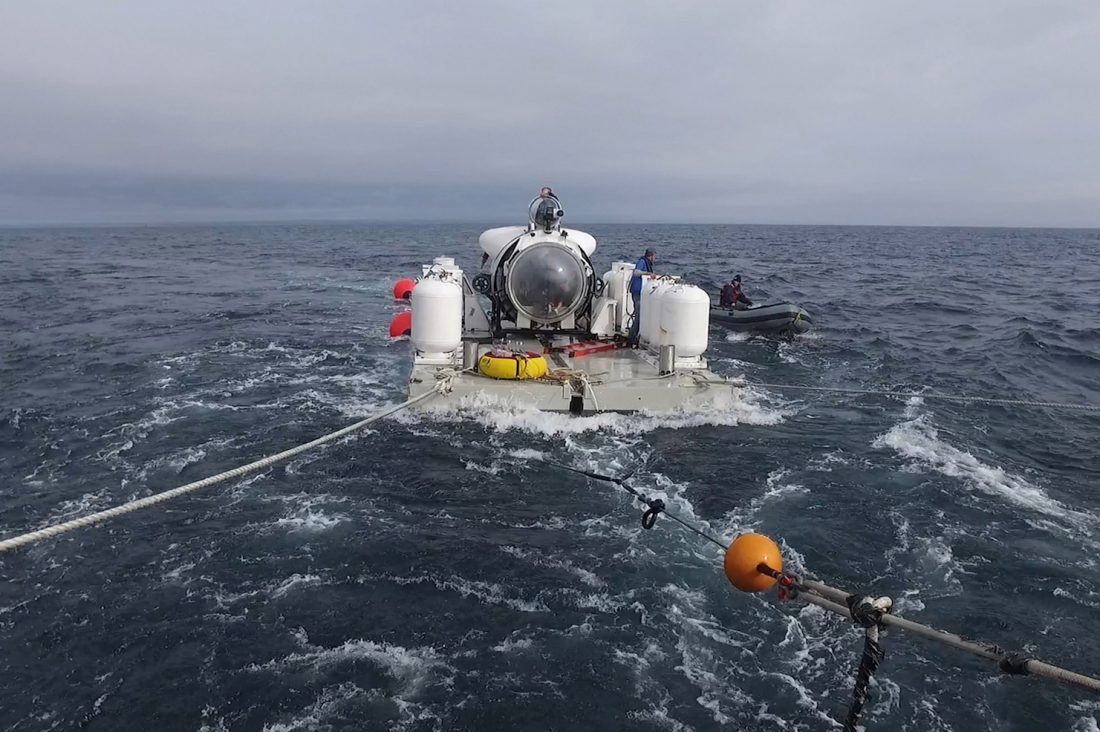 "OceanGate Leads Underwater Expedition to ""Mount Everest"" of Shipwrecks"