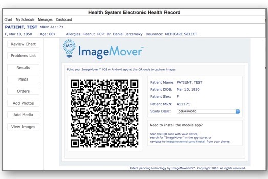 ImageMover desktop screenshot