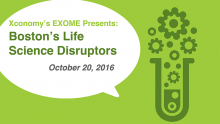 Gene Editing, Precision Medicine & More at Disruptors on Oct. 20