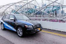 Delphi's Autonomous Vehicle Pilot to Test Mobility On-Demand in Singapore