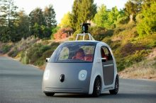 When Self-Driving Cars Turn Corner, Other Autos Become Irrelevant