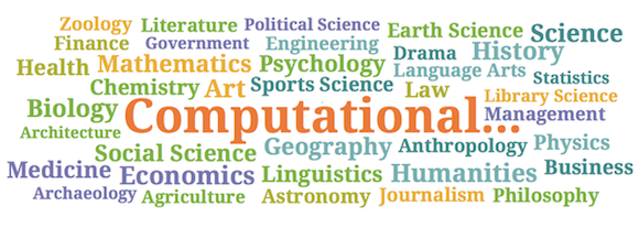Computational word cloud