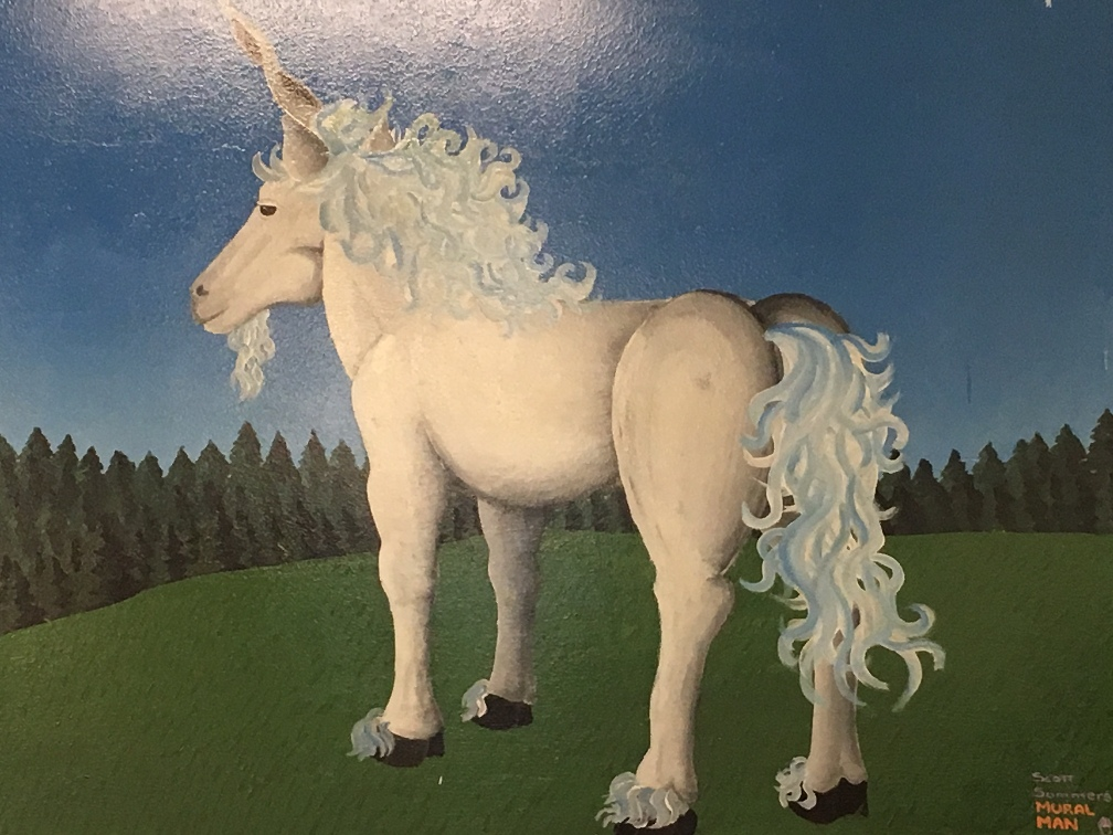 Unicorn by Mural Man