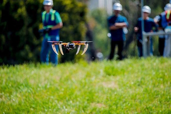 Qualcomm demonstrated drone flight tests earlier this year.