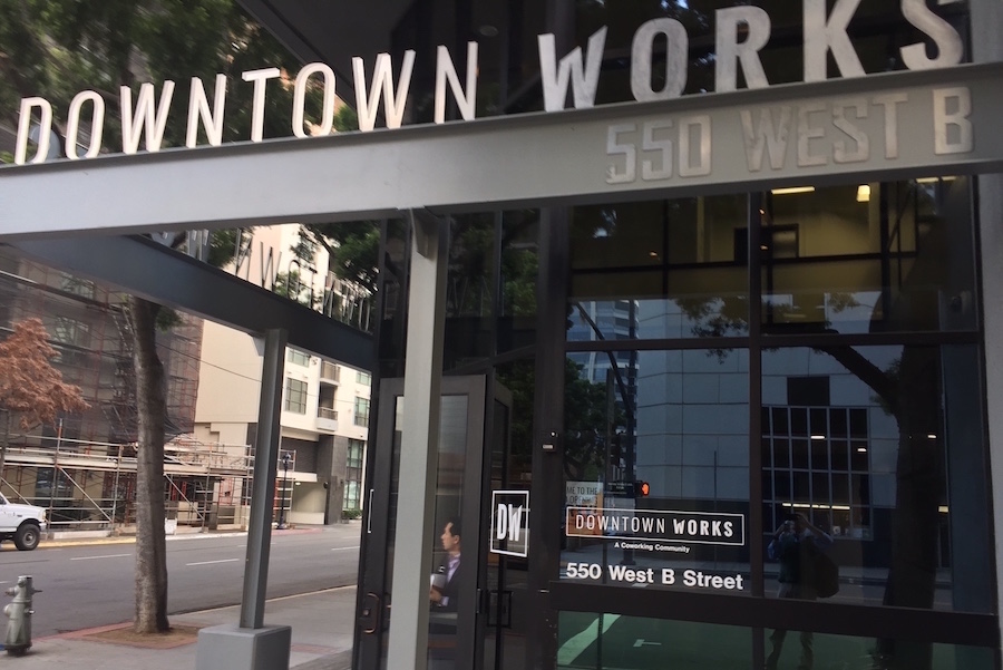 SD Downtown Works entrance