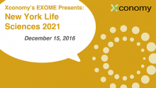 Hurry and Save 20 Percent on NY Life Sciences 2021