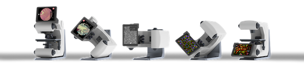 Revolve hybrid microscope combines the features of an upright microscope and an inverted microscope. (Echo Labs image)