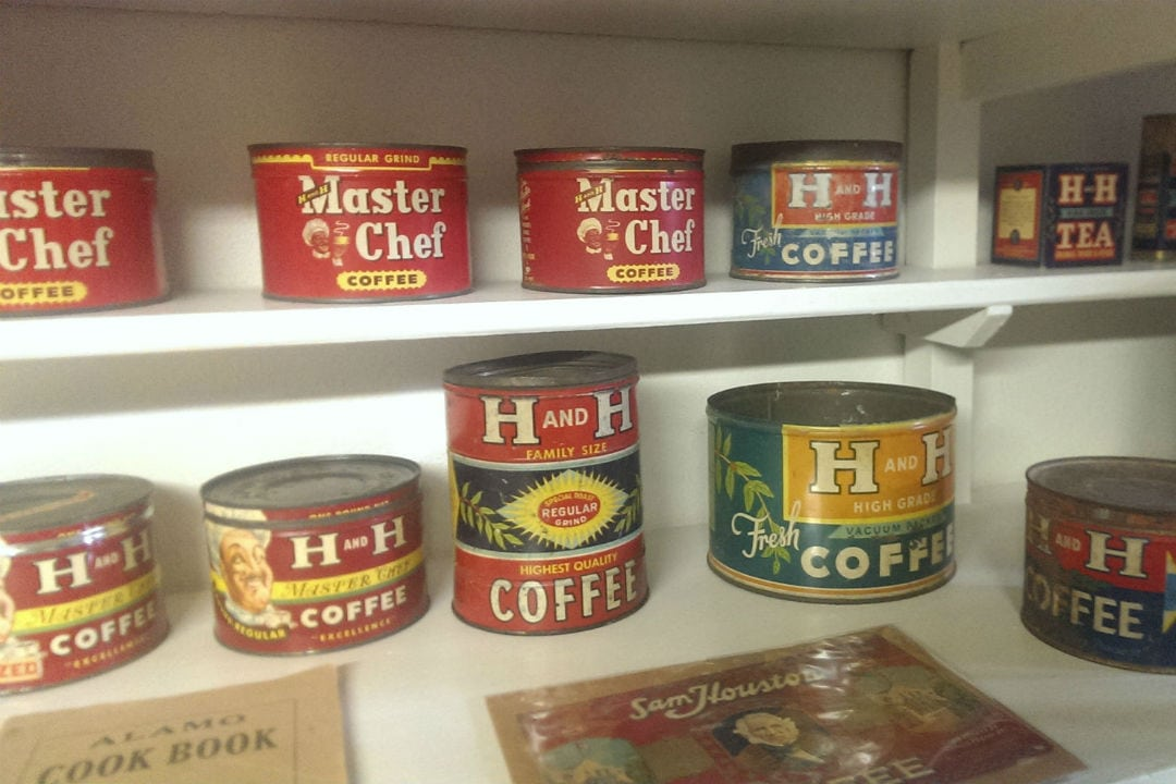 H&H Coffee Tins