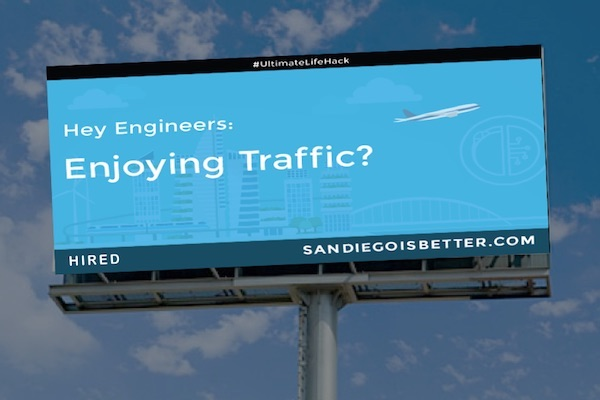 Mock Billboard Prepared by San Diego Venture Group (Image used with permission)