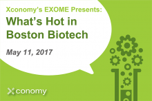 Grab Your Ticket for What's Hot in Boston Biotech on May 11th