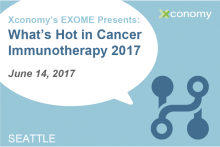 Grab Your Ticket for What's Hot in Cancer Immunotherapy 2017 on June 14th