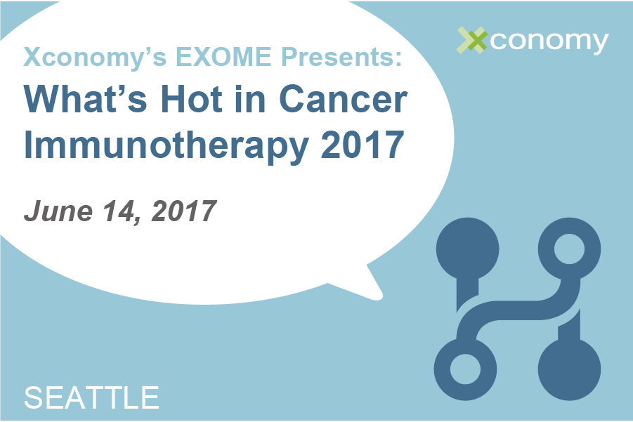 "Last Chance for ""What's Hot in Cancer Immunotherapy 2017"" Tickets"