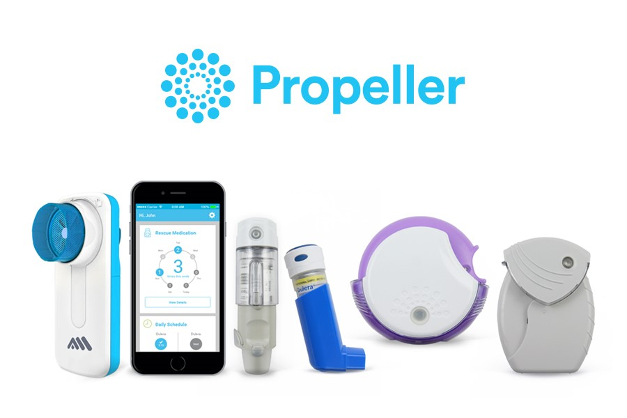 Propeller Health digital platform