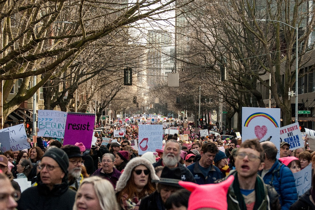 Womxns March via Flickr