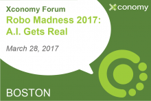 Grab Your Ticket for Robo Madness 2017— A.I. Gets Real on March 28th