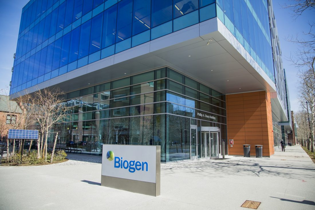 Biogen, Opening Bottlenecks, Sees Spine Drug Sales, Shares Rise