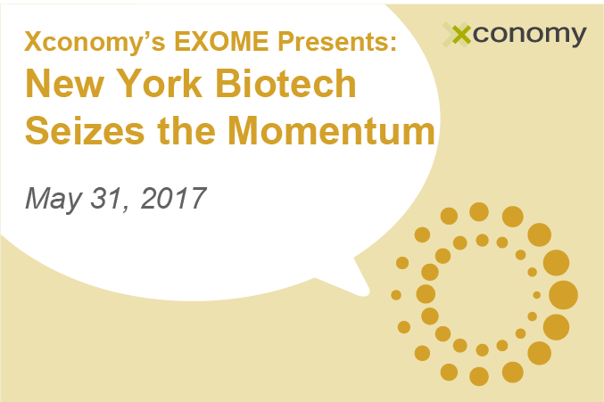 Talk NY Bio With Schadt, Varmus & More on May 31: Discount Ends Today