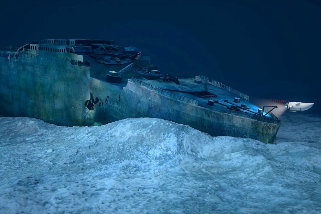 Visit the Titanic in OceanGate's Carbon Fiber Sub: Only $105,129