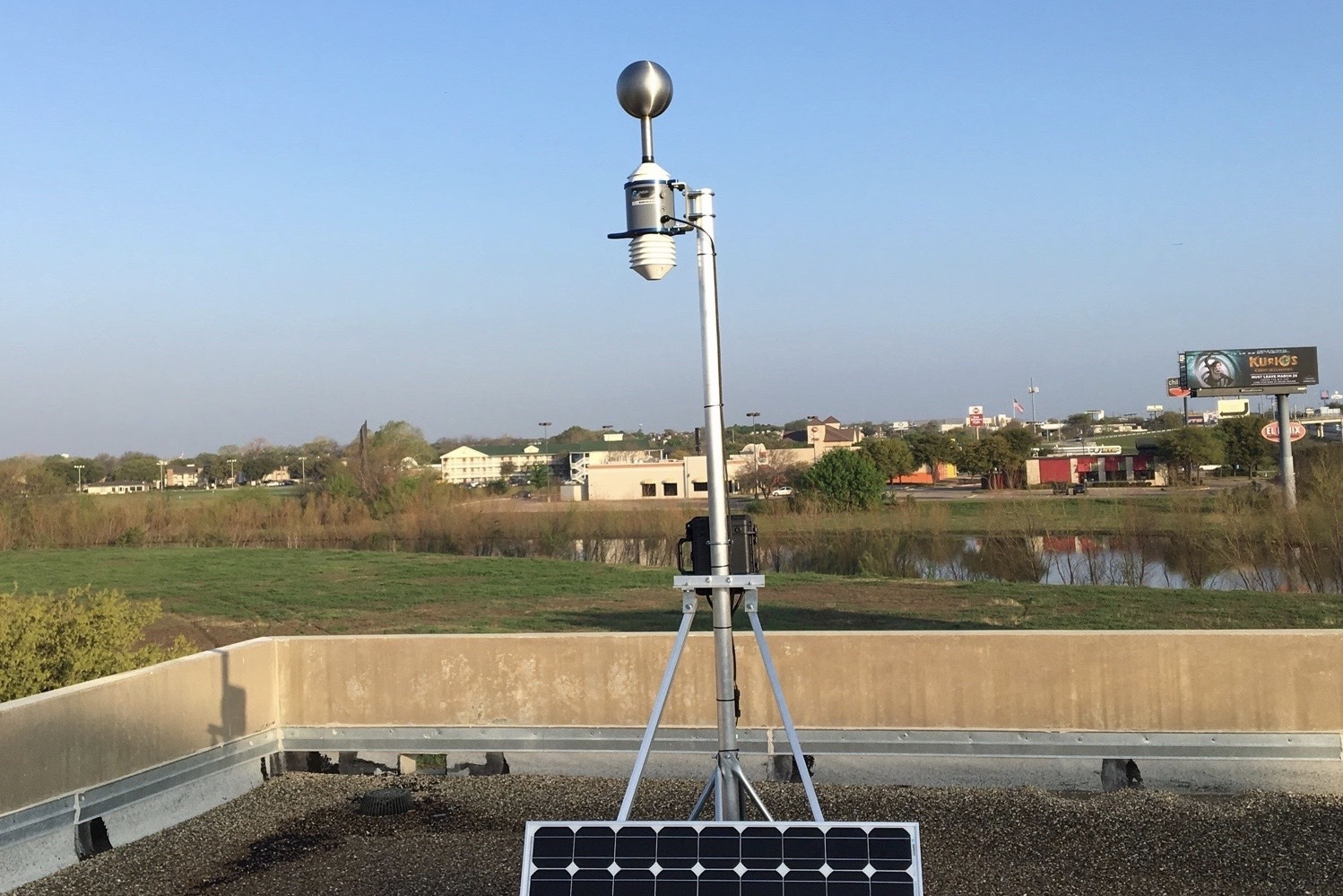 Understory weather station in Dallas