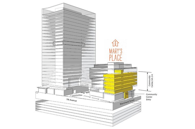 Mary's Place Rendering