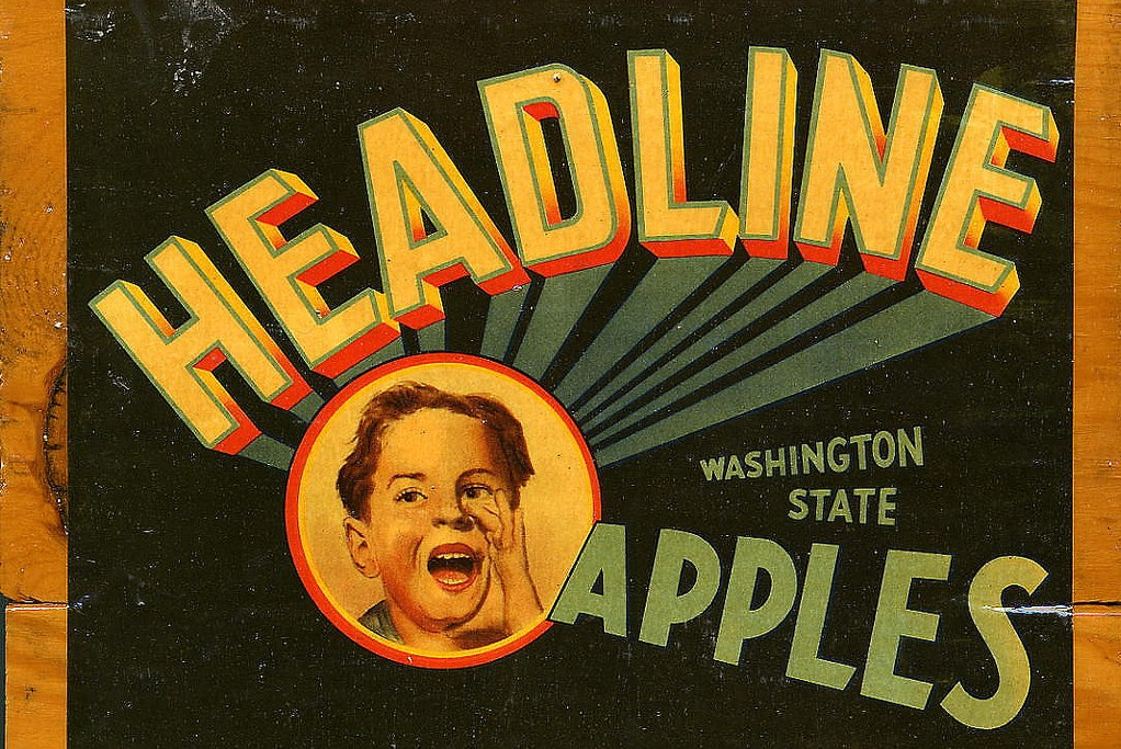 Washington apples headline