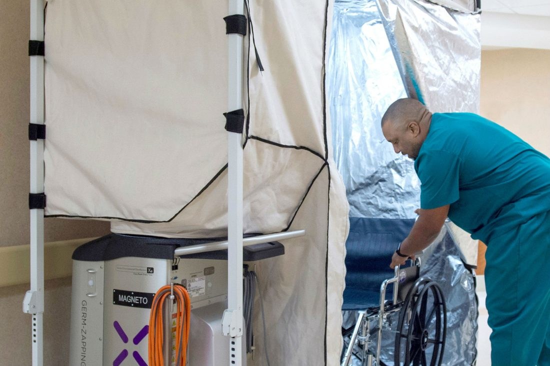 "San Antonio's Xenex Debuts Hospital-Cleaning ""Pod"" After Adding $38M"