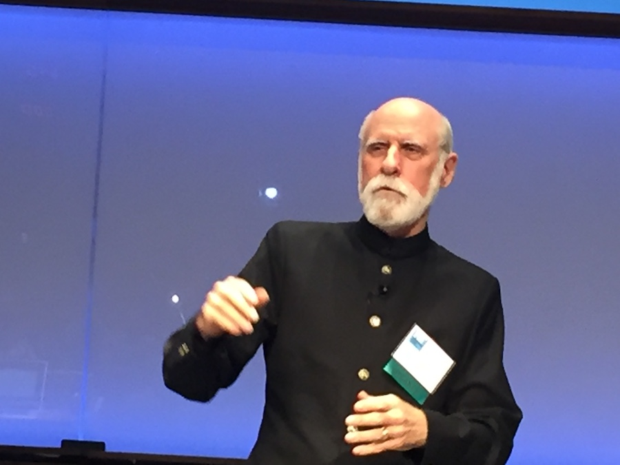Vint Cerf (BVBigelow photo)