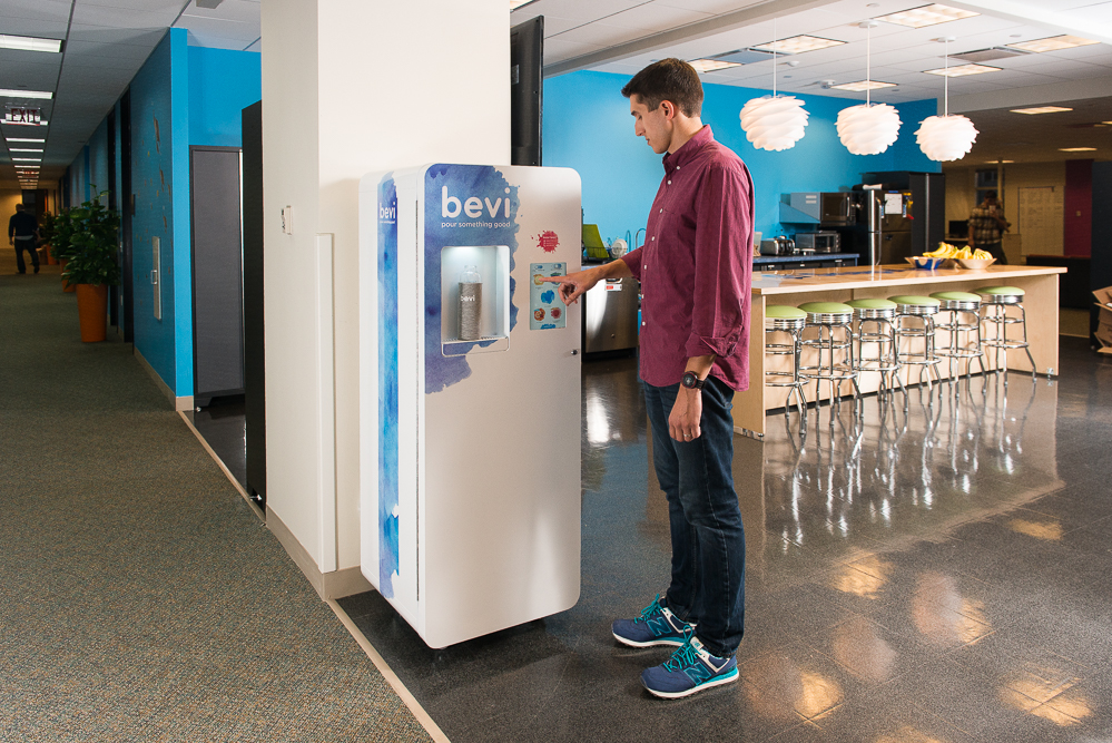 "Bevi Slurps $16.5M to Bring ""Smart Water Cooler"" to More Offices"