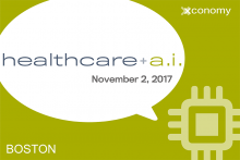 Join GE, IBM Watson & Others at Healthcare + A.I. on Nov. 2