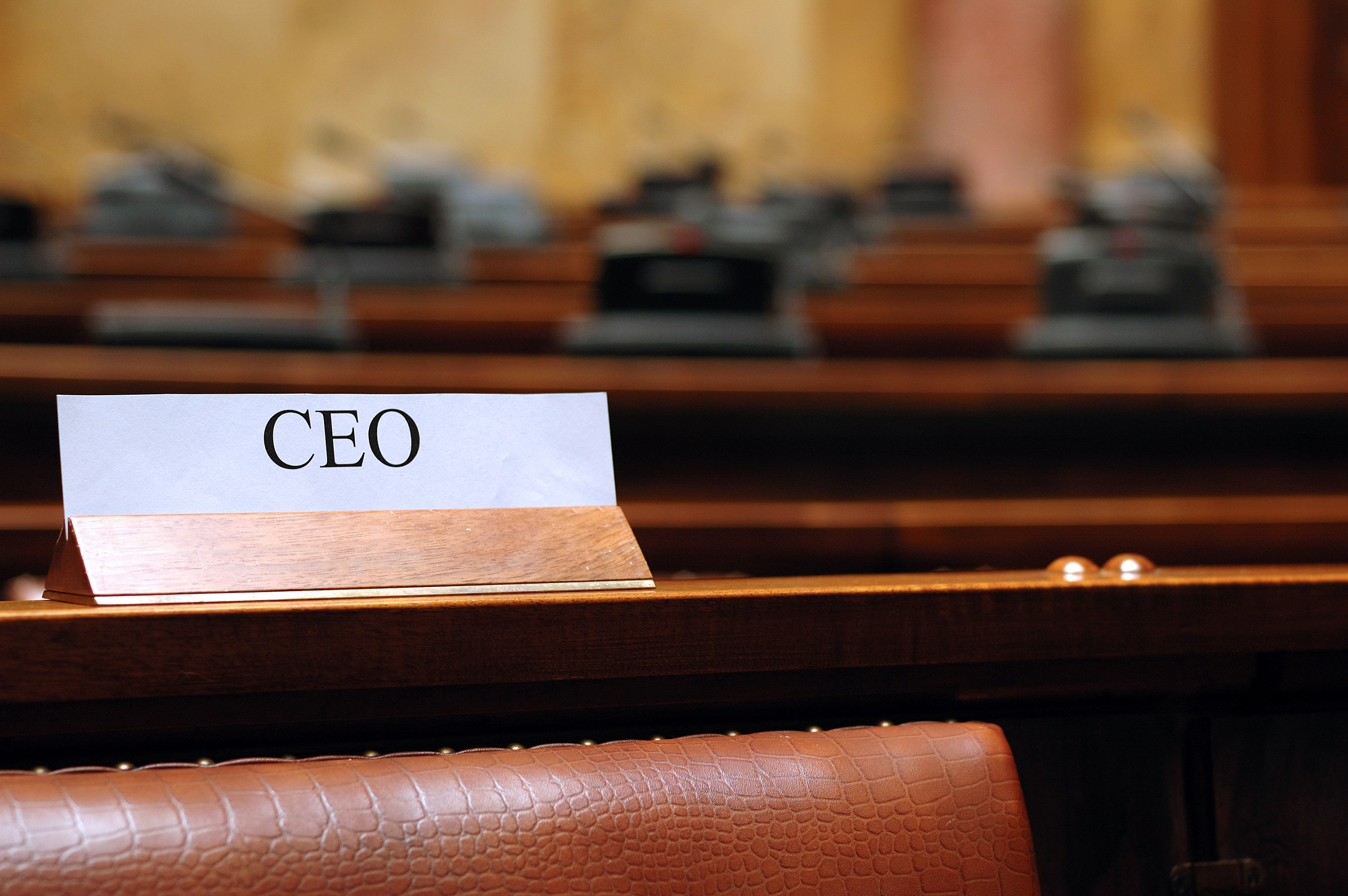 CEO stock image