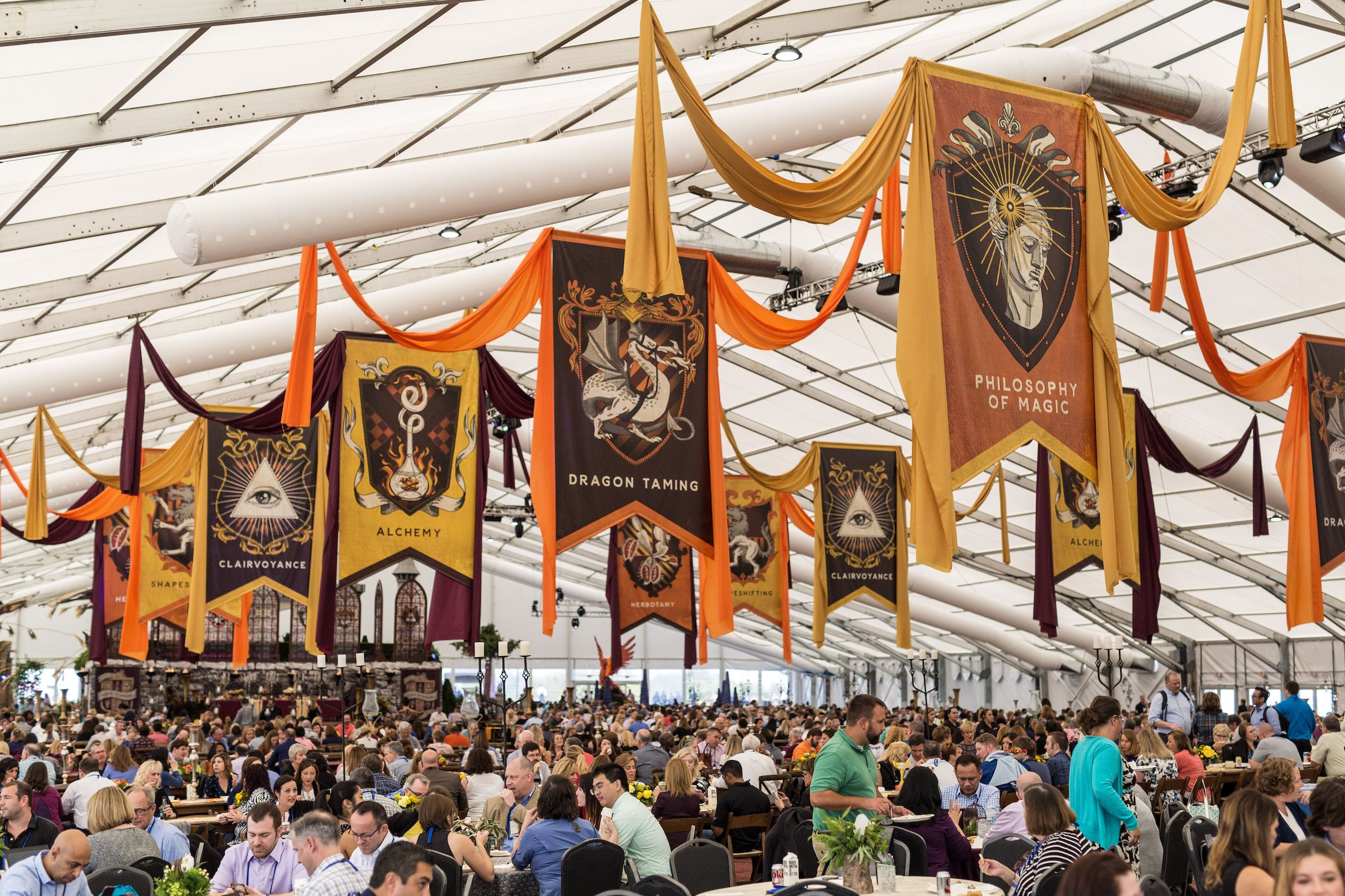 Epic Systems UGM dining tent