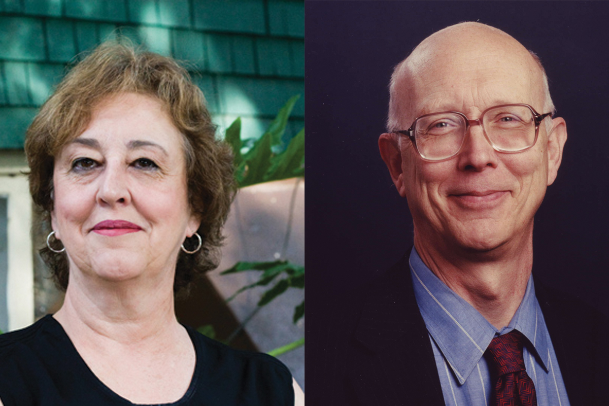 Lita Nelsen and George Whitesides