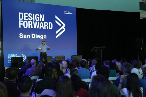 Don Norman at 2016 Design Forward Summit (UCSD Design Lab photo used with permission