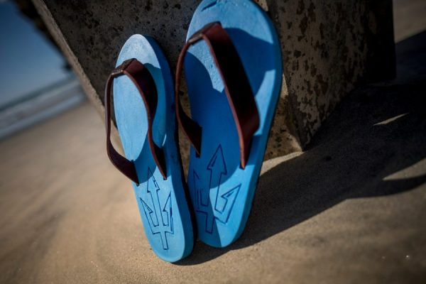 Flip-Flops prototype made at UC San Diego (photo by UCSD/Erik Jepsen used with permission)