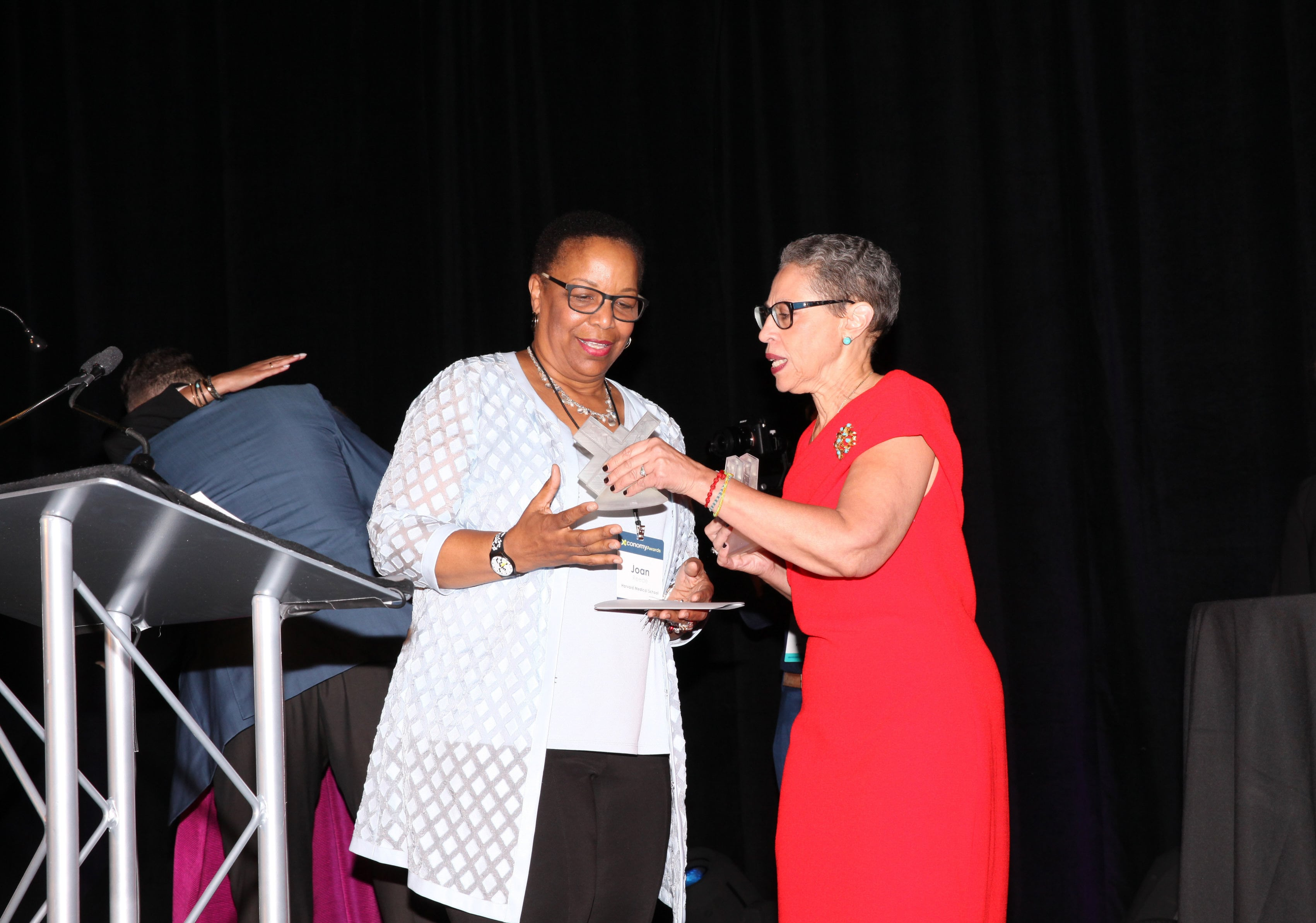 Joan Reede took home one of the Commitment to Diversity Awards.
