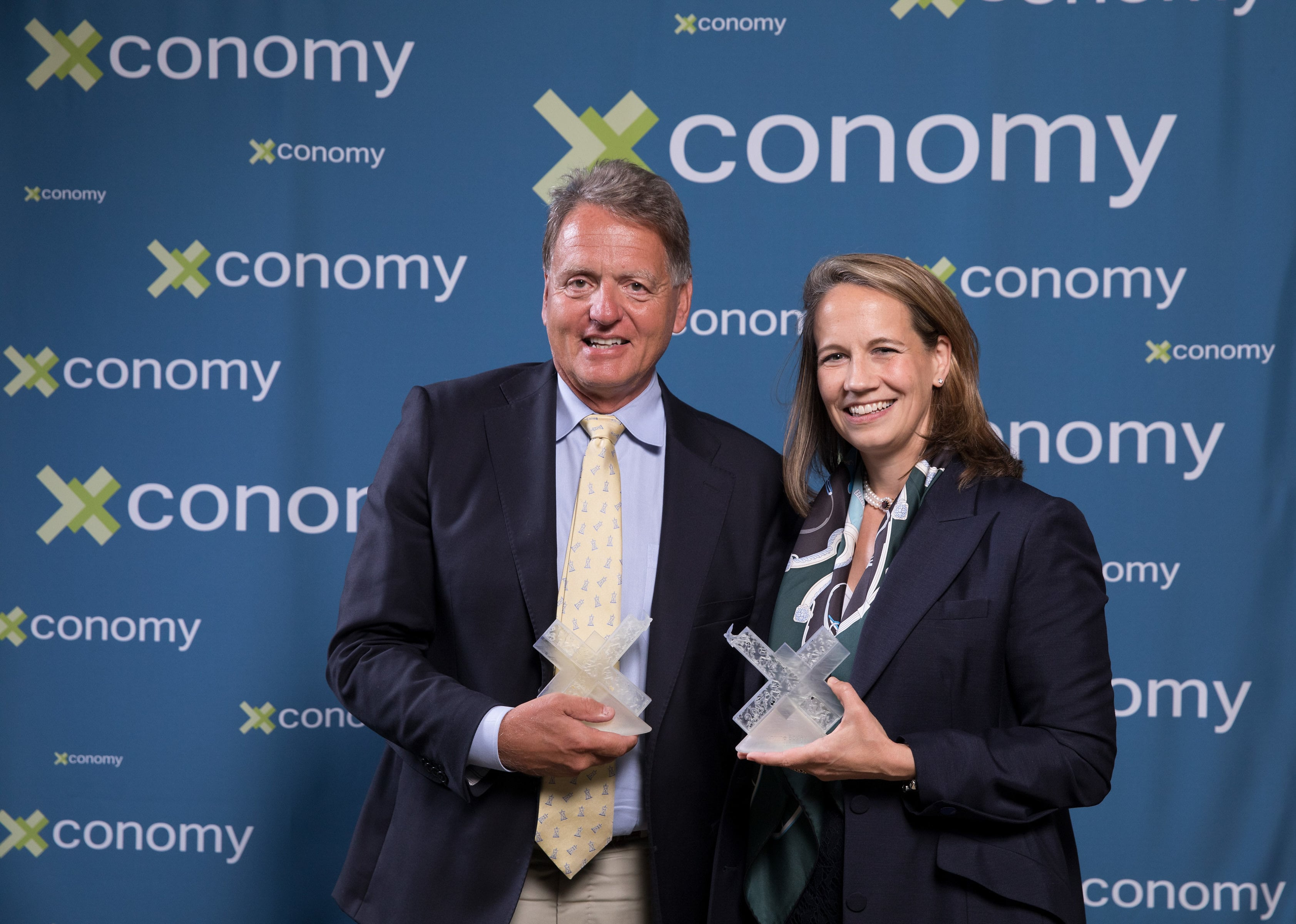 Ed Kaye and Katrine Bosley won the CEO Awards.