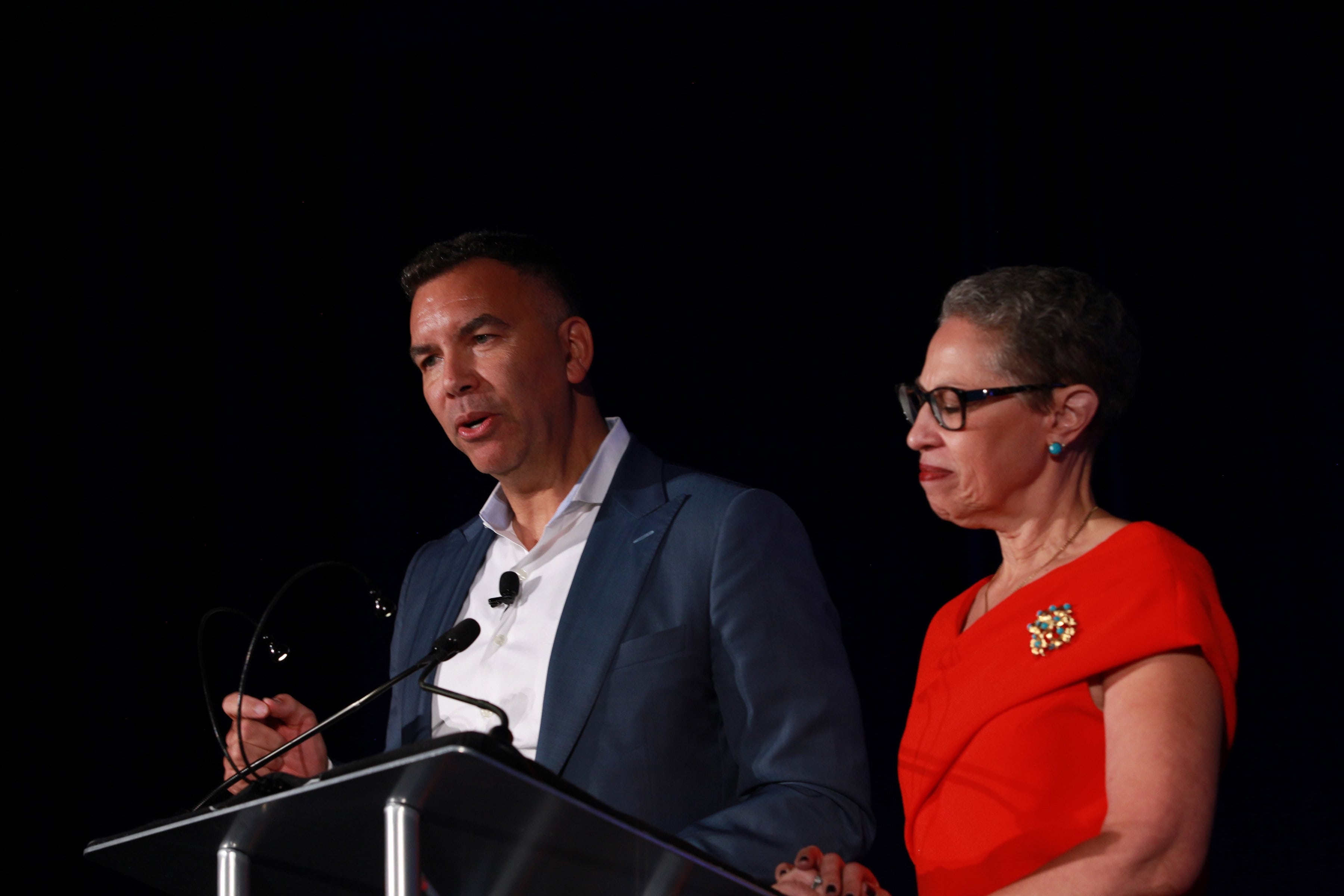 Rob Perez and Susan Windham-Bannister