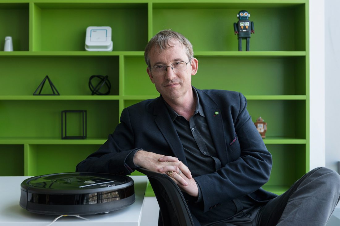 IRobot's Colin Angle on the Home Run of Robotics (It's Not A.I.)