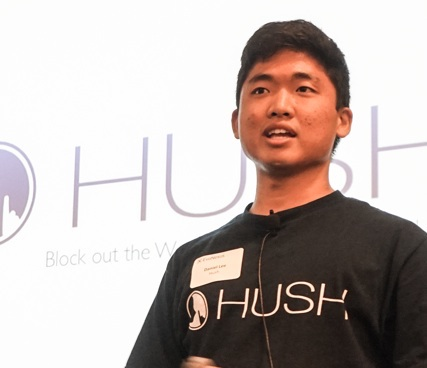 Hush CEO Daniel Lee (BVBigelow photo)