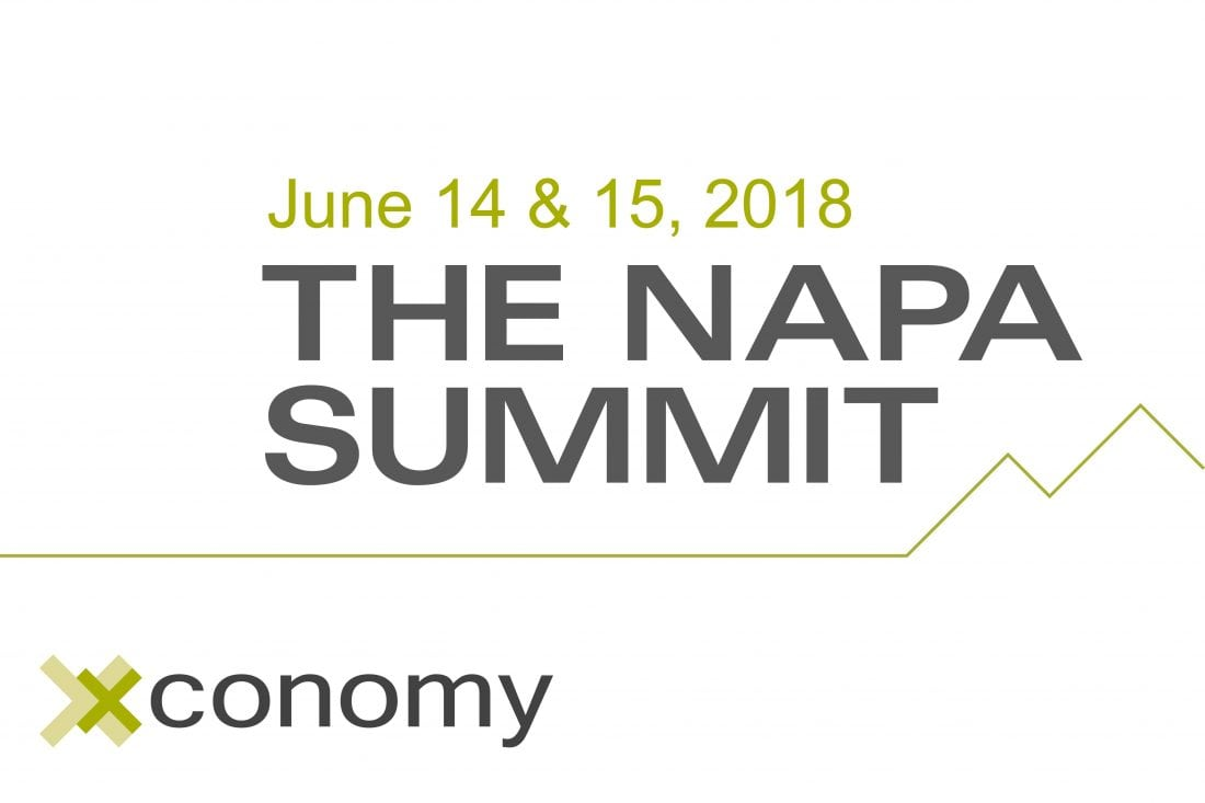 Xconomy's Napa Summit Is June 14-15: Request Your Invite Today!
