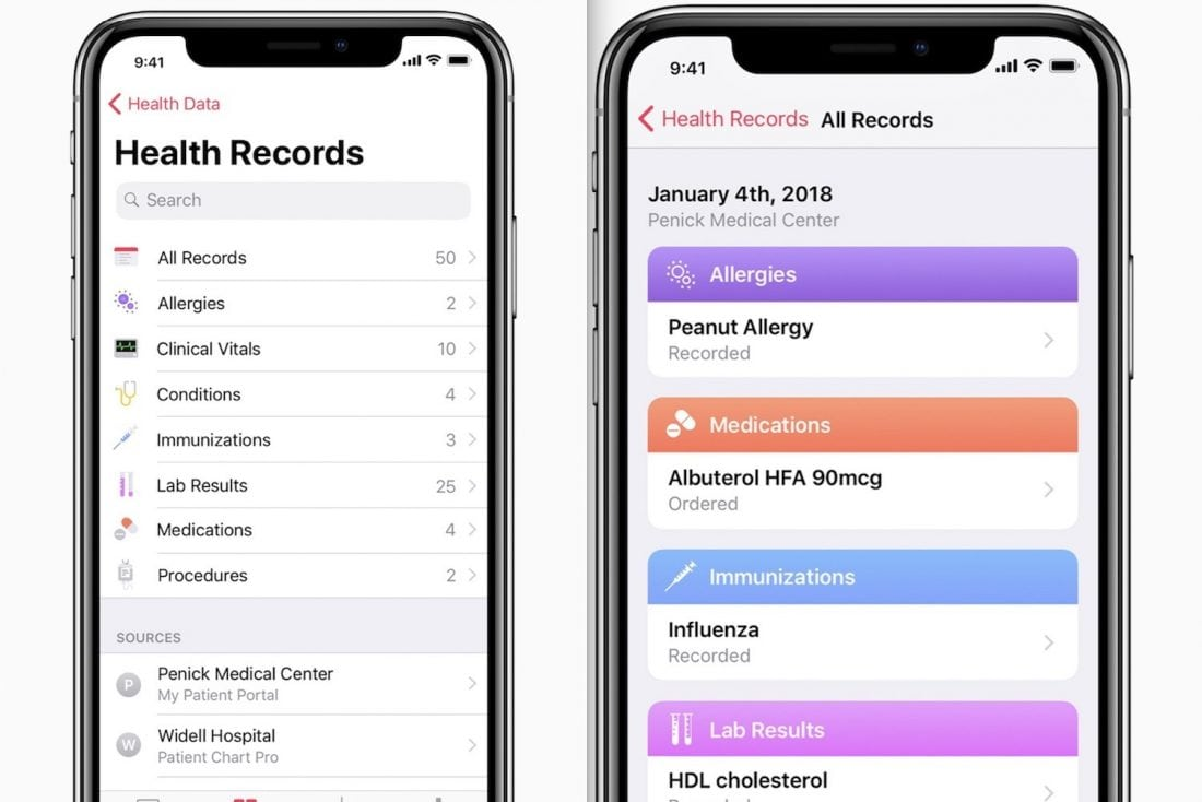 With Medical Records Tools, Apple Wades Deeper Into Digital Health