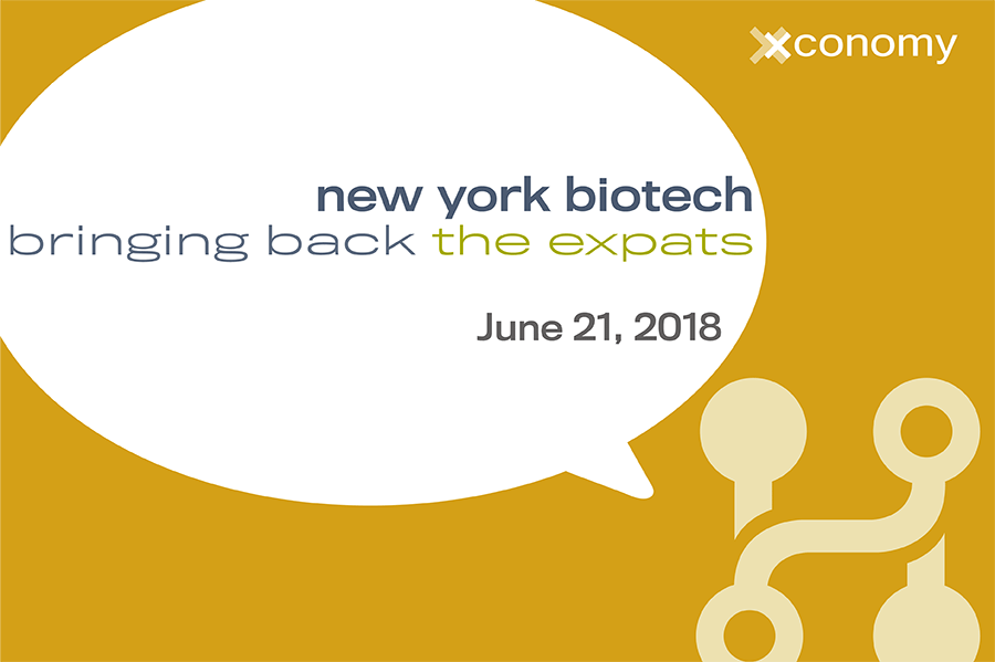 Join Xconomy as We Bring Back the NY Biotech Expats on June 21