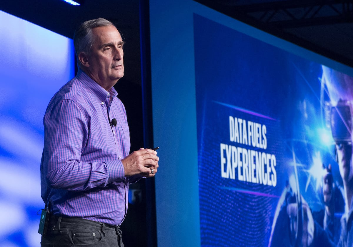 Intel CEO Brian Krzanich (Intel Capital photo 2018 Used with permission)