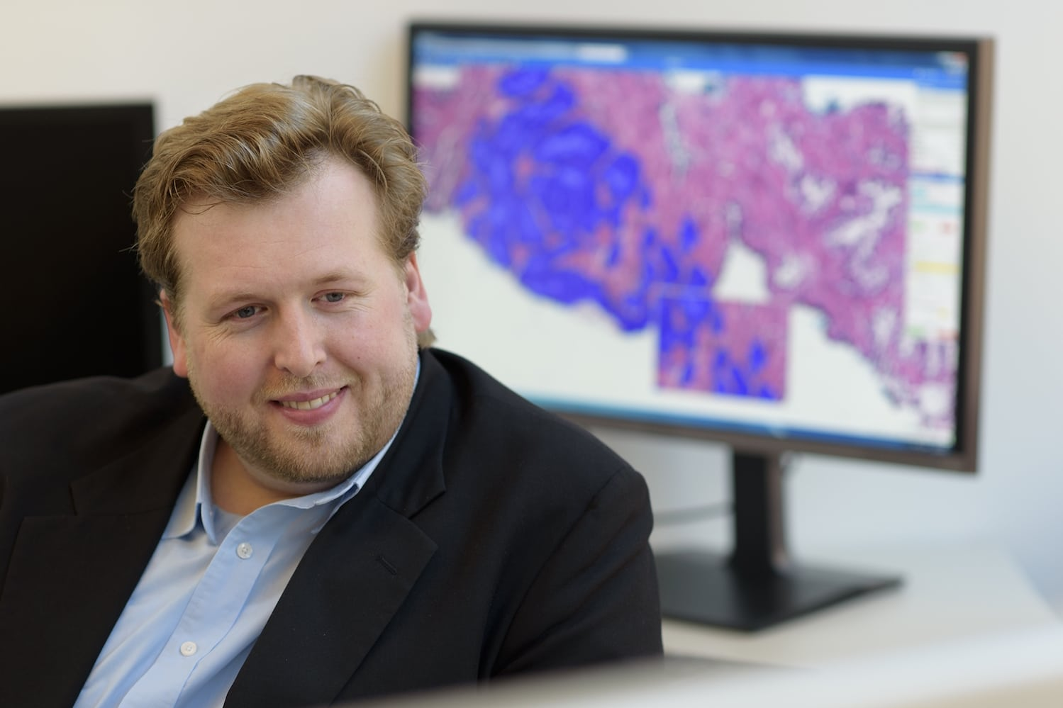Thomas Fuchs, founder of Paige.AI and director of computational pathology in the Warren Alpert Center for Digital and Computational Pathology at Memorial Sloan Kettering Cancer Center