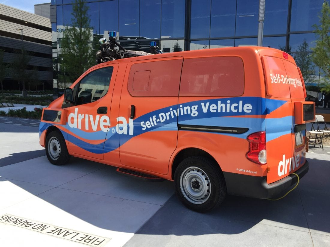Drive.AI Launches Pilot Program of Self-Driving Vehicles in Texas