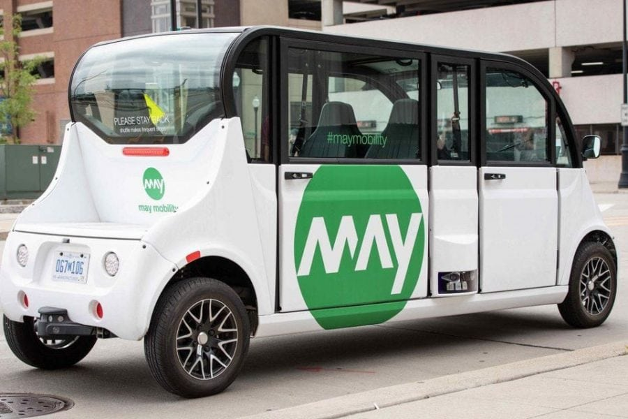 Xconomy May Mobility And Bedrock Deploy Driverless