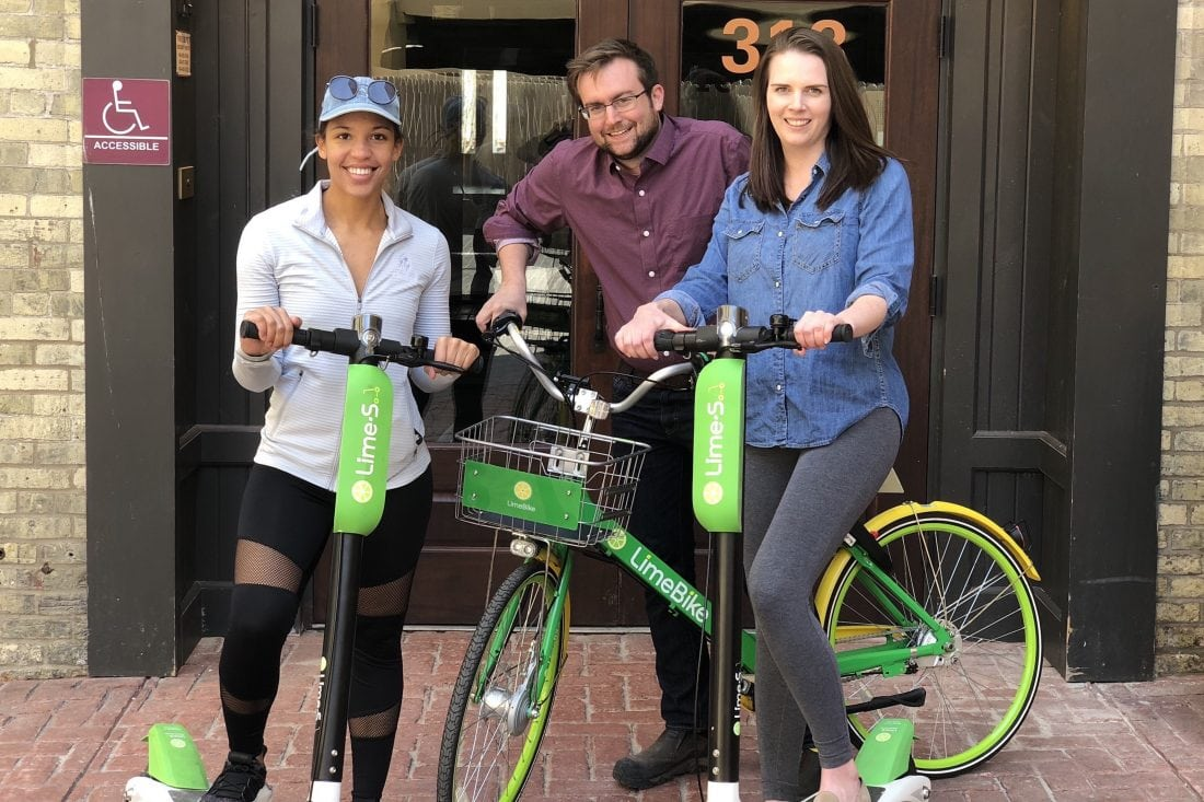Xconomy: It's a Bird! A Bike! A Scooter! New Transit Options